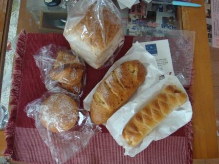 ブルー・デェ・ロシェのパン.JPG